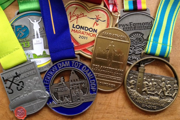 House of Running medals