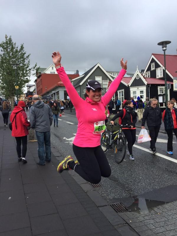 Laurie | Reykjavik marathon 2015