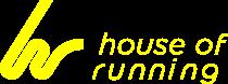 House of Running yello logo