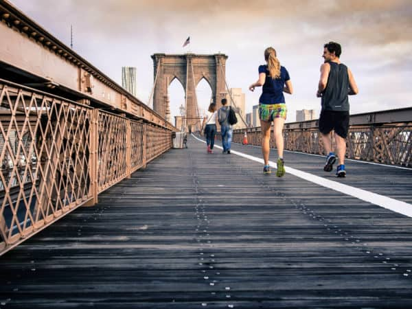 running bridge